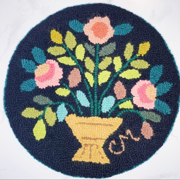 Floral Embroidery Decor
